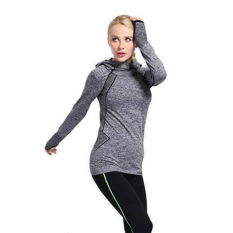 Image of Breathable Sports Hoodie
