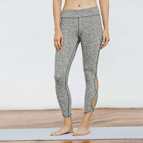 Image of Cutout Crop Leggings