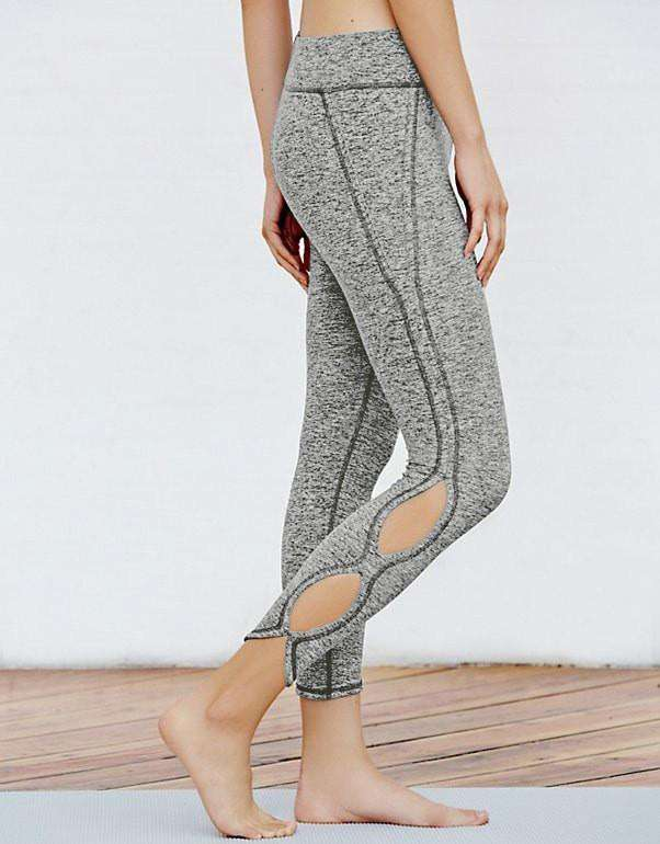 Cutout Crop Leggings