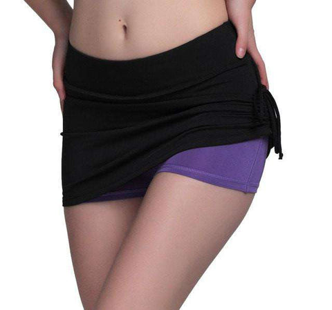 Image of Compression Skirt Shorts
