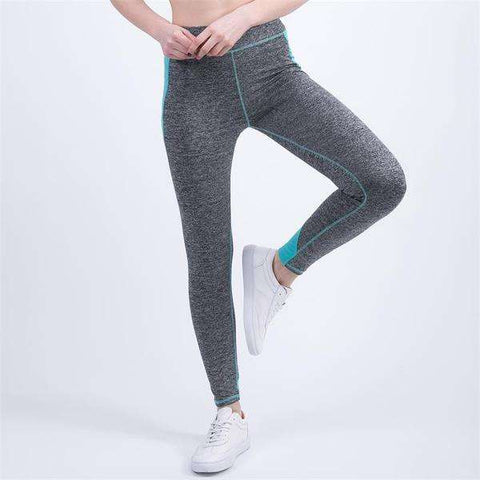 Image of Color Contrast Leggings - Elastic and Durable 4 Colors