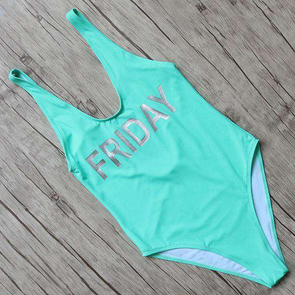 Fun Day One Piece Swimsuit