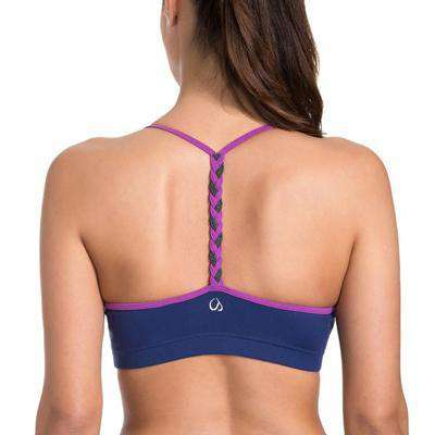 Braided Back Sports Bra