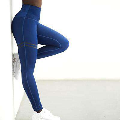 Simple Stripe High Waist Leggings