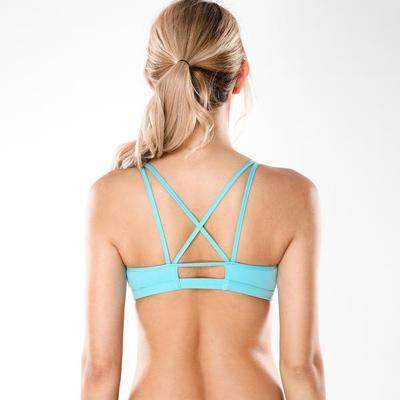 Image of Strappy Happy Padded Sports Bra