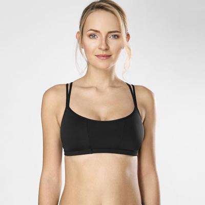 Strappy Happy Padded Sports Bra