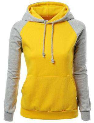 Image of Two-Tone Hoodie Shirt
