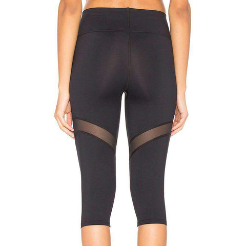 Image of Patchwork Power Capri Leggings