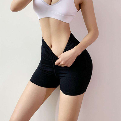 Image of High Waist Easy Moving Shorts