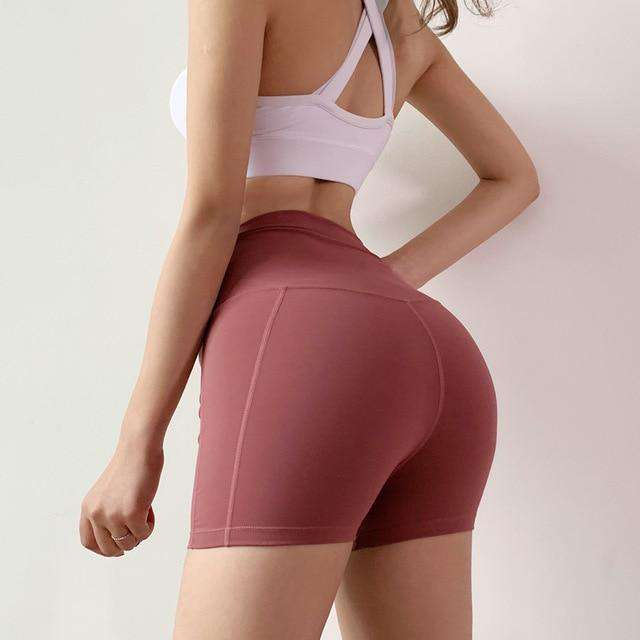 High Waist Easy Moving Shorts