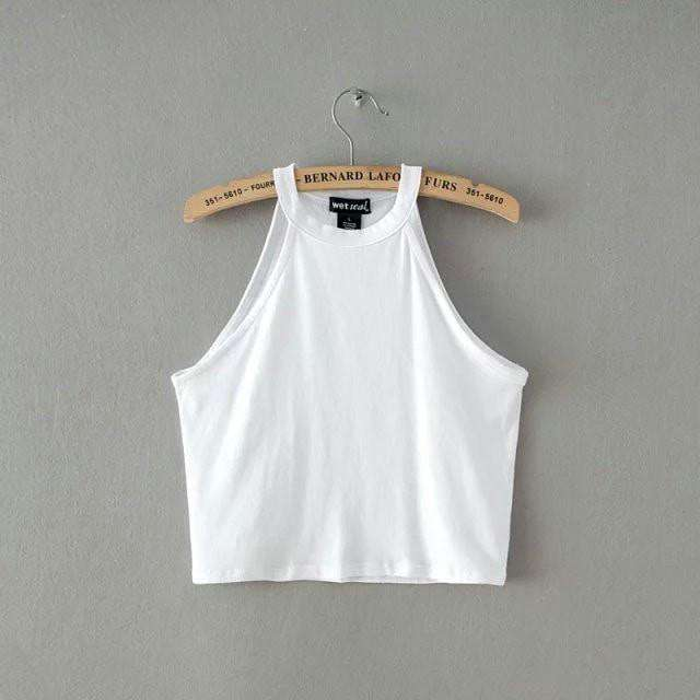 100% Cotton Crop Tops - HerFitness - 5