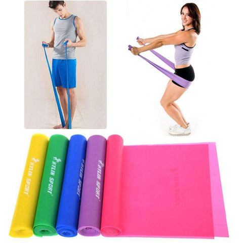 Elastic Training Bands In 5 Colors - HerFitness - 5