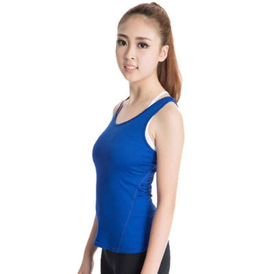 Quick-Drying Women's Sports PRO Running Yoga Fitness Top - HerFitness - 11