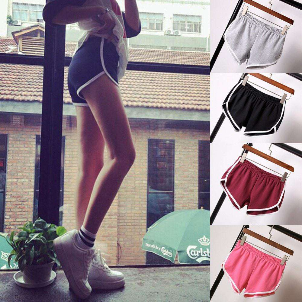 HOT New Summer Women Ladies Sexy Fitness Slim Sports Shorts - HerFitness - 1