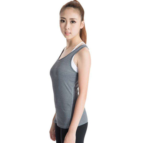 Image of Quick-Drying Women's Sports PRO Running Yoga Fitness Top - HerFitness - 6