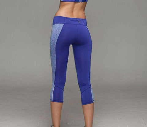 Image of Spandex Compression Running Tights -  - HerFitness.co - 8