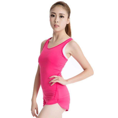 Quick-Drying Women's Sports PRO Running Yoga Fitness Top - HerFitness - 9
