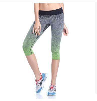 Elastic Force Slim Running Pants - leggings - HerFitness.co - 1