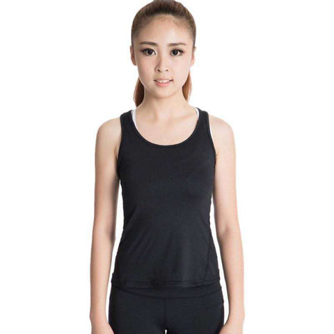 Image of Quick-Drying Women's Sports PRO Running Yoga Fitness Top - HerFitness - 3