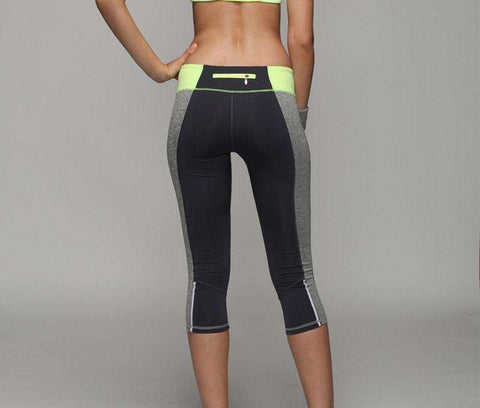 Image of Spandex Compression Running Tights -  - HerFitness.co - 5