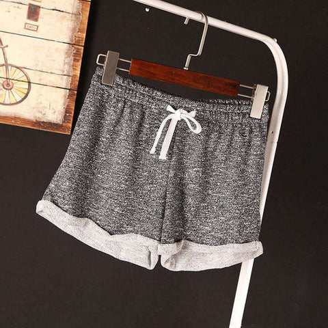 Image of Womens Casual Cotton Running Shorts - HerFitness - 1