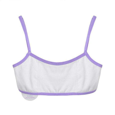 2016 New Fashion Women Spaghetti Strap Cropped Sport Bra Top - HerFitness - 2