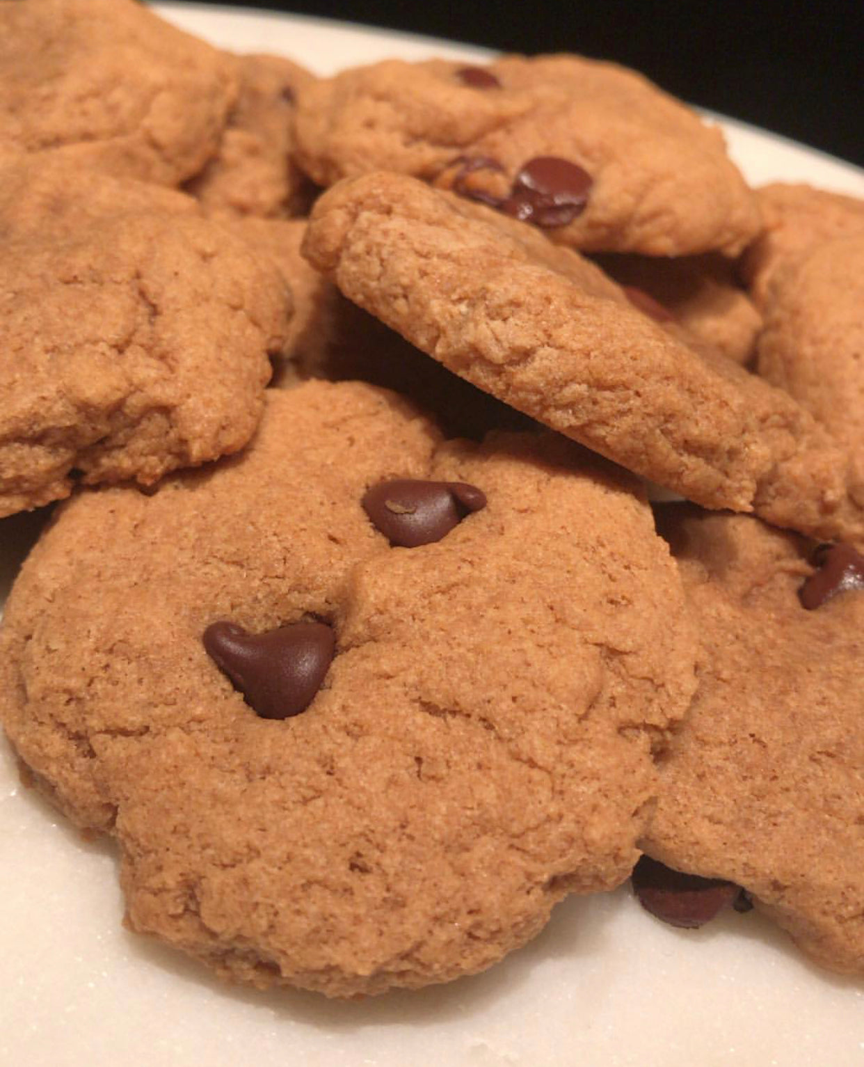 PB Chocolate Chip Protein Cookie Recipe