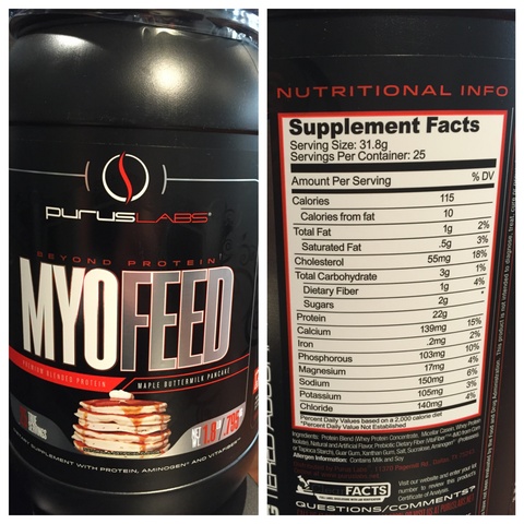 NutriFit Cleveland - Purus Labs Myofeed