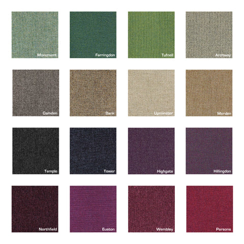 Main Line Flax fabric swatches