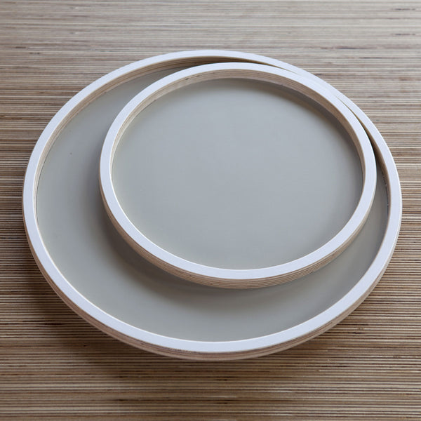 Set of 7 Round Trays