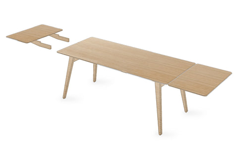 Angle Table 140 with Two Extensions
