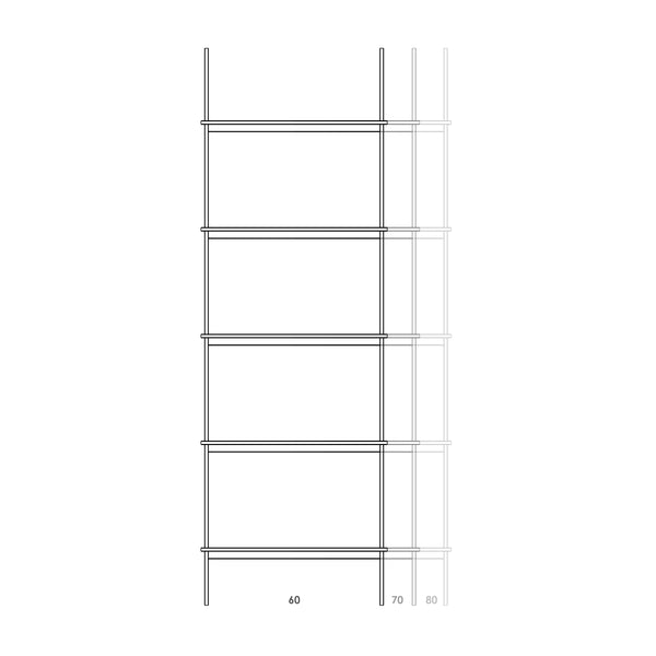 Step Shelf Free Stand 180