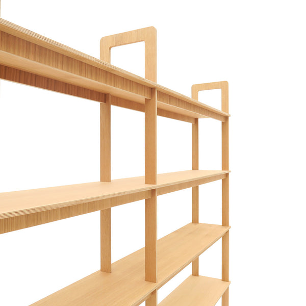 Step Shelf Free Stand Wide
