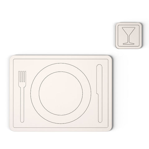 Icon Coaster & Placemat