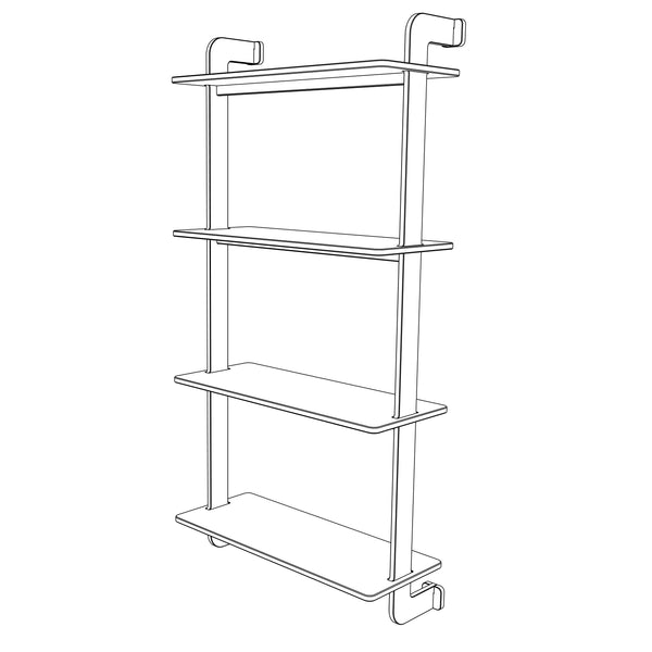 Step shelf Wall Mounted 120