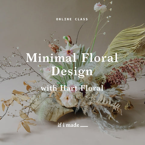 Minimal Floral Design with Hart Floral (ROP)