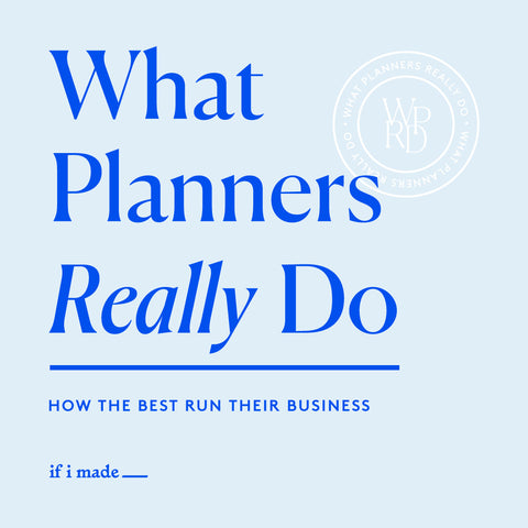 What Planners Really Do: How the Best Run their Business (ROP)