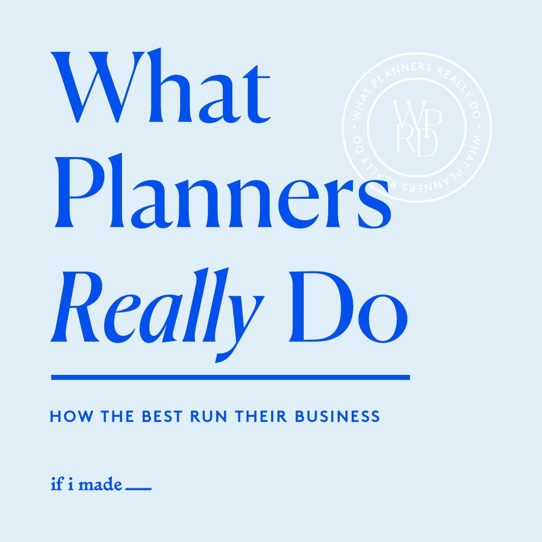 What Planners Really Do- 6 Monthly Payments of $99