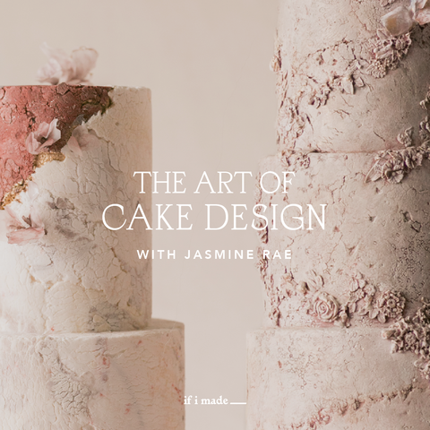 The Art of Cake Design with Jasmine Rae (RPP) - 11 Monthly Payments of $99