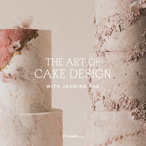 Payment Plan Sale: The Art of Cake Design with Jasmine Rae- 7 Monthly Payments of $99
