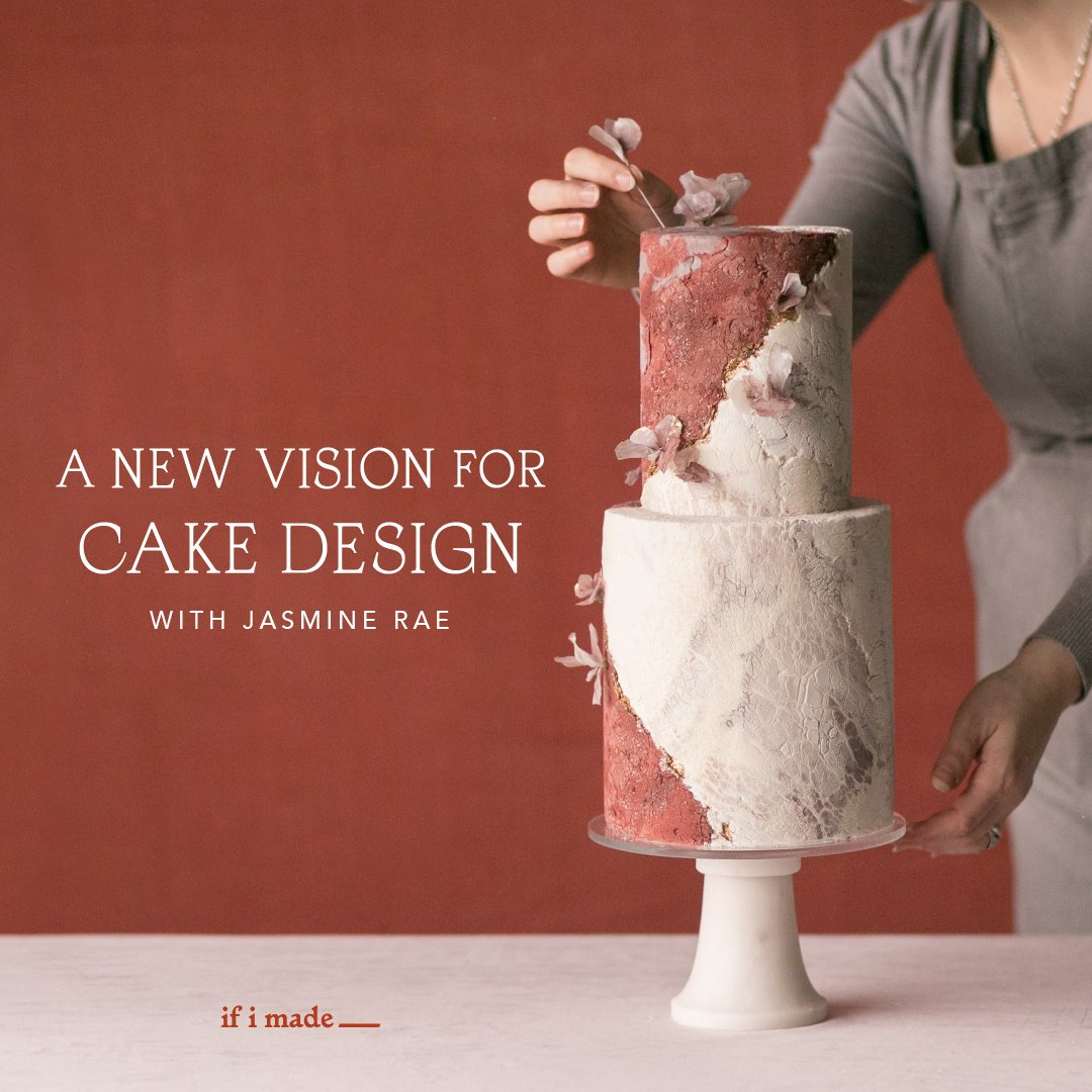 A New Vision for Cake Design with Jasmine Rae (SPP0220) - 16 payments of $99