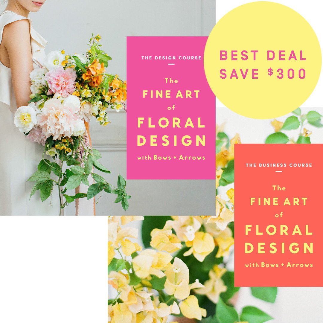 The Fine Art of Floral Design with Bows & Arrows (SPP) - 14 payments of $99