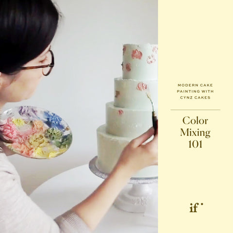 Color Mixing 101 with Cynz Cakes