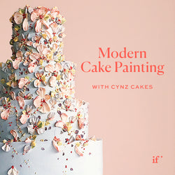 Modern Cake Painting with Cynz Cakes