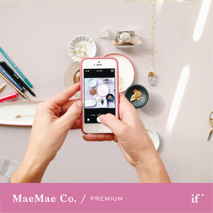 Styling for Your Instagram and Website with MaeMae & Co. - 4 Payments of $49