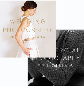 Wedding + Commercial Photography with Tec Petaja  (RPP) - 13 payments of $99