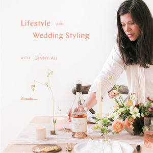 New Sale Payment Plan: Lifestyle and Wedding Styling with Ginny- 16 Monthly Payments of $99