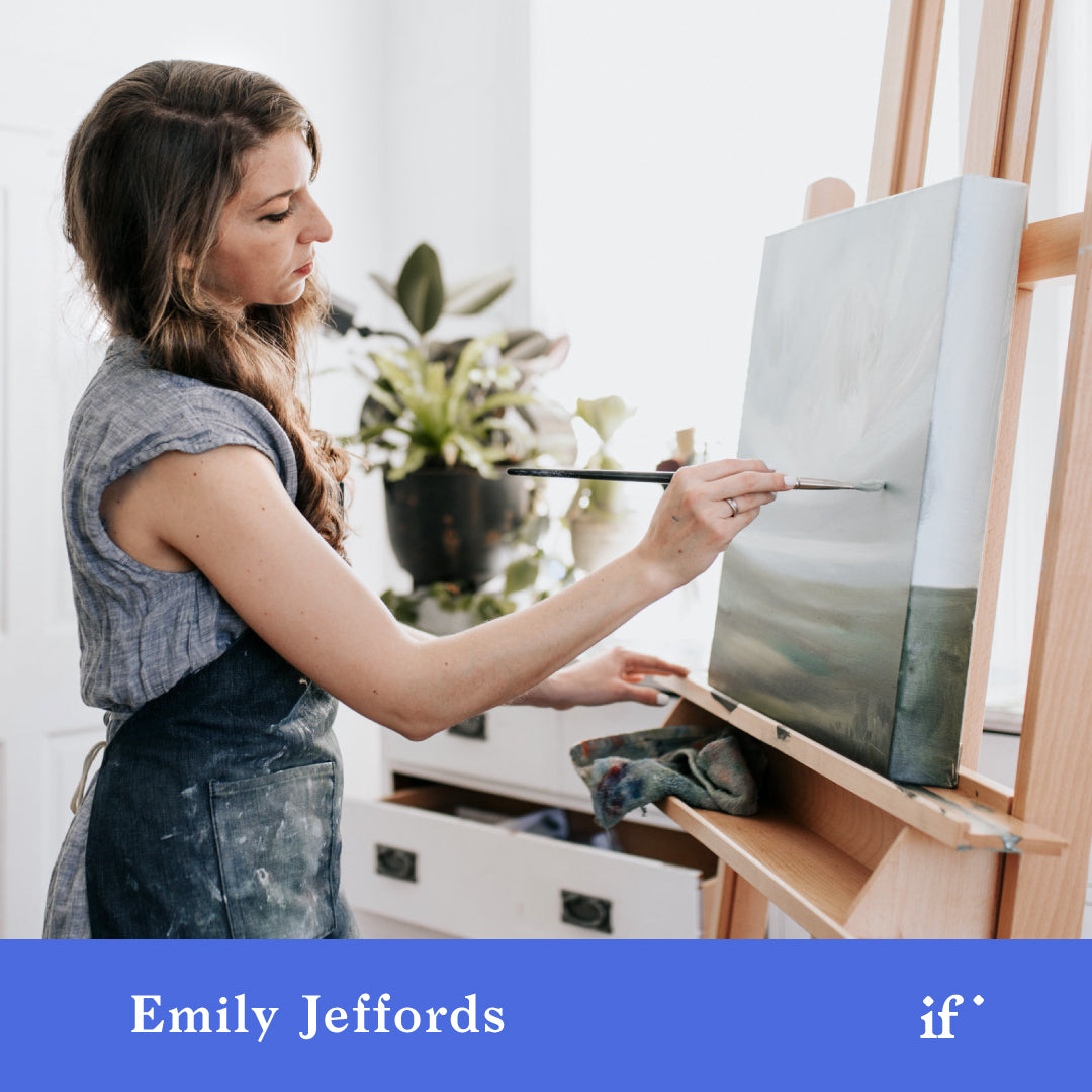 From Inspiration to Pricing: Painting with Emily Jeffords