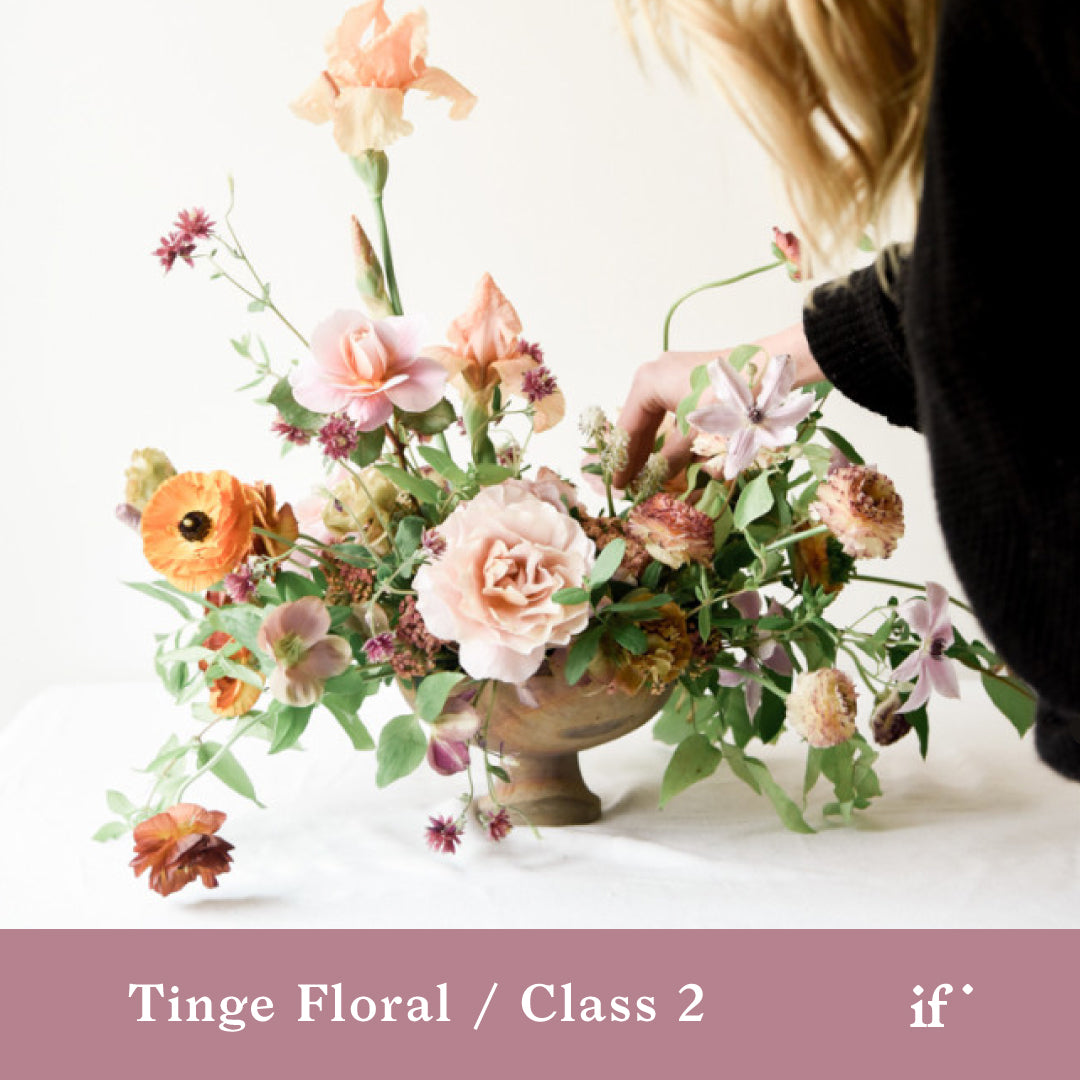 Design Demo with Tinge Floral