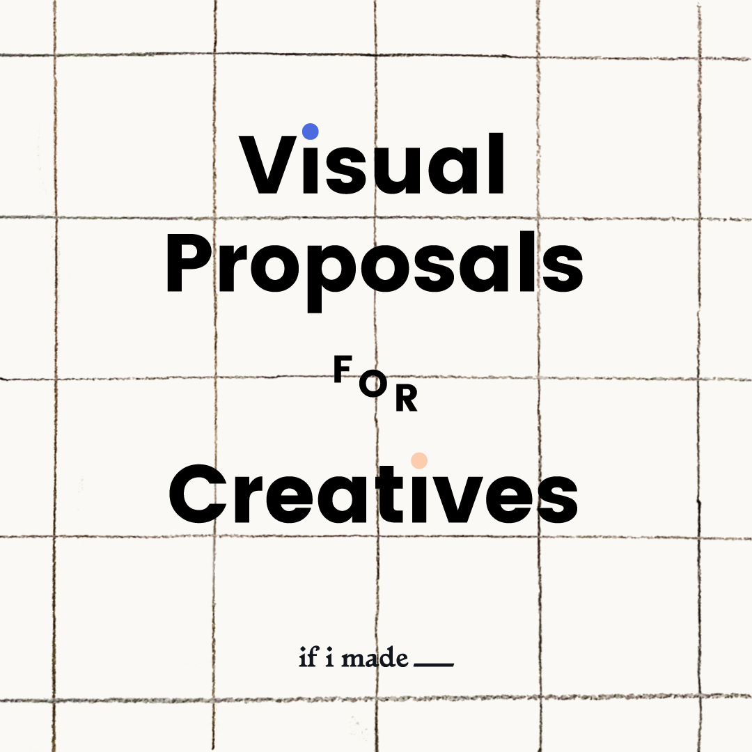 Visual Proposal for Creatives- 4 Monthly Payments of $99